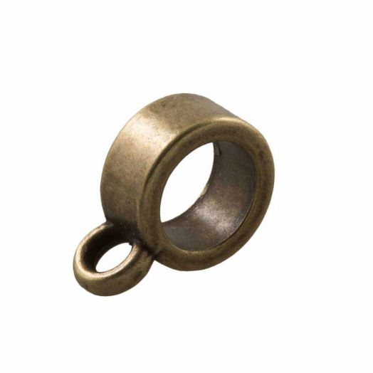 Charmträger (Innenmaß 4 mm) Bronze (10 Stück)