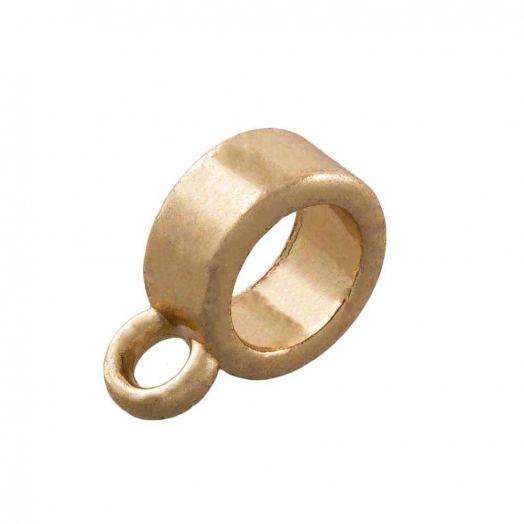 Charmträger (Innenmaß 4 mm) Gold (10 Stück)