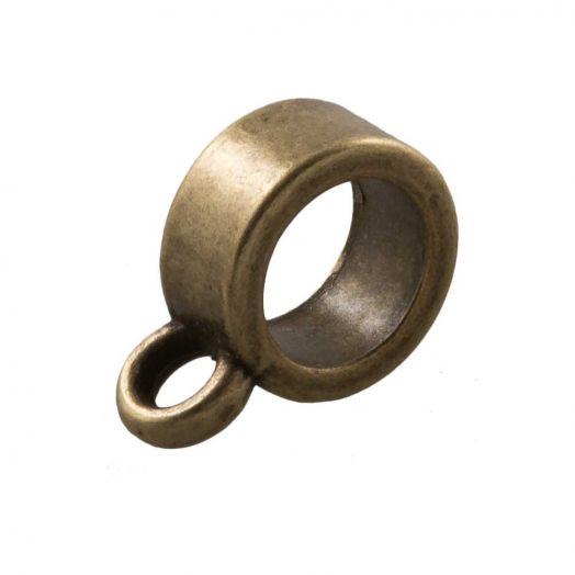 Charmträger (Innenmaß 5 mm) Bronze (10 Stück)