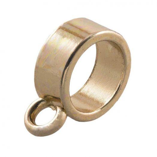 Charmträger (Innenmaß 8 mm) Gold (10 Stück)