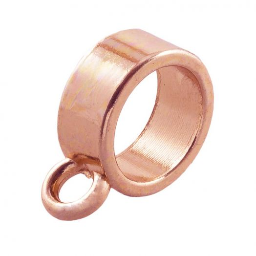 Charmträger (Innenmaß 8 mm) Rose Gold (10 Stück)