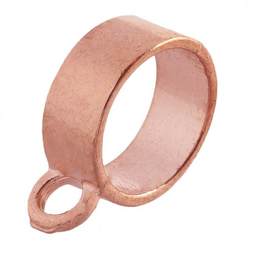 Charmträger (Innenmaß 10 mm) Rose Gold (10 Stück)
