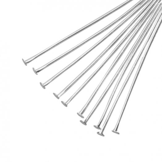 Nietstifte (50 mm Dicke 0.6 mm) Altsilber (100 Stück)