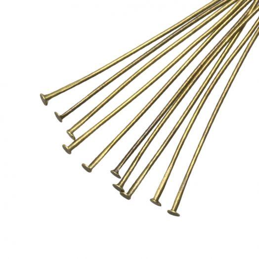 Nietstifte (35 mm Dicke 0.6 mm) Bronze (100 Stück)